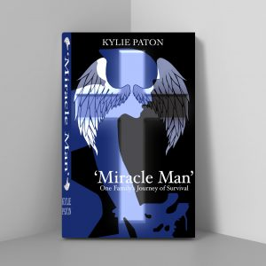 Miracle Man Front Cover - Kylie Paton Self Published Author South Australia